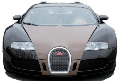 Bugatti pr�sente au salon de Gen�ve une version exclusive de sa Veyron: la Bugatti Veyron Fbg Herm�s, habill�e par la c�l�bre marque de luxe fran�aise.